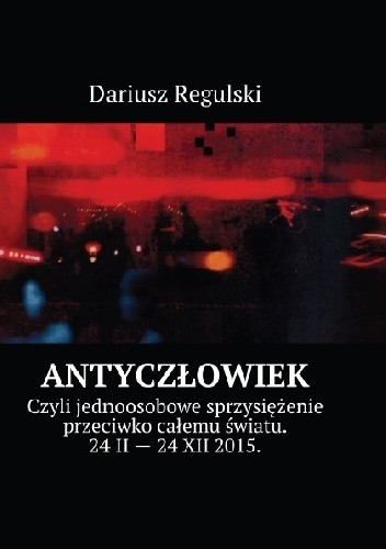 Okładka książki AntyCzłowiek
