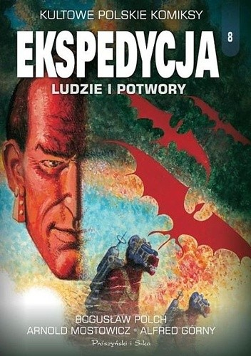 Okładka książki Ekspedycja. Ludzie i potwory