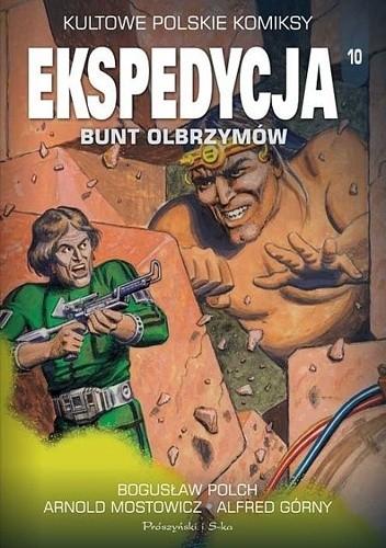 Okładka książki Ekspedycja. Bunt olbrzymów