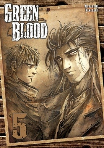 Okładka książki Green Blood #5