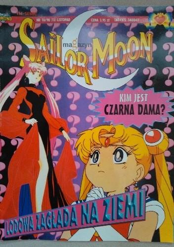 Okładka książki Sailor Moon magazyn nr 10/98
