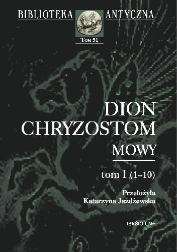 Okładka książki Mowy. Tom I (1-10)