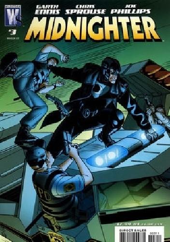 Okładka książki Midnighter #3