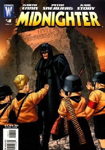 Okładka książki Midnighter #4