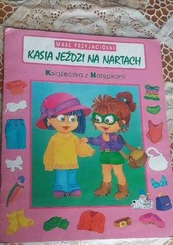 Okładka książki Kasia jeździ na nartach