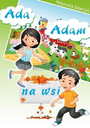 Okładka książki Ada i Adam na wsi