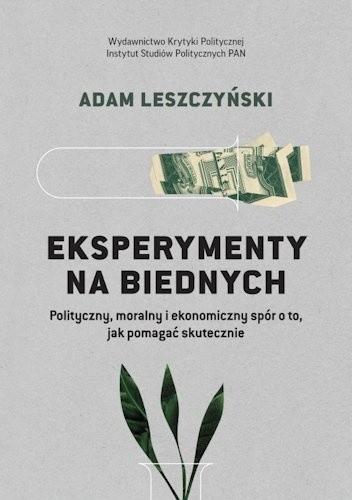 Okładka książki Eksperymenty na biednych