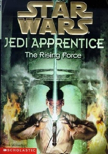 Okładka książki Jedi Apprentice: The Rising Force