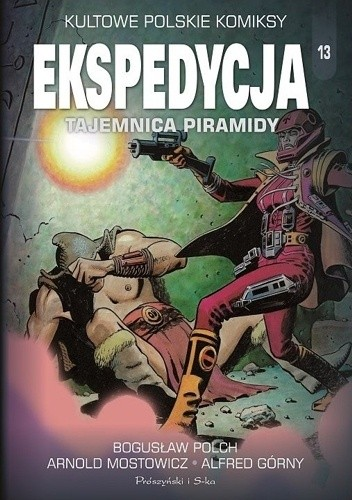 Okładka książki Ekspedycja. Tajemnica piramidy