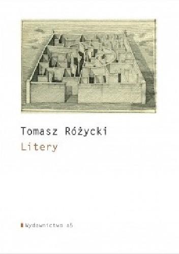 Okładka książki Litery