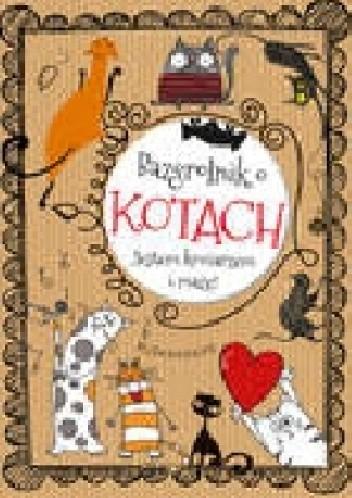 Okładka książki Bazgrolnik o kotach
