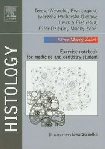 Okładka książki Histology. Exercise notebook for medicine and dentistry student