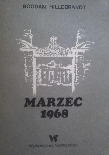 Okładka książki Marzec 1968