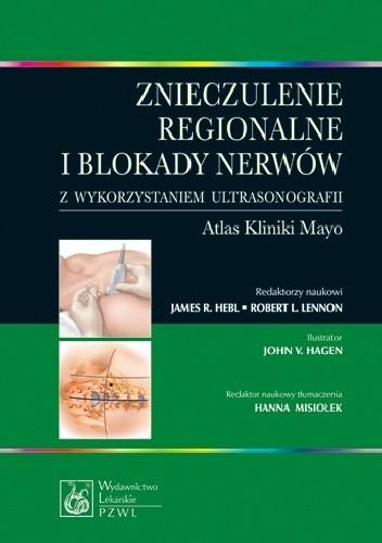Okładka książki Znieczulenie regionalne i blokady nerwów z wykorzystaniem ultrasonografii