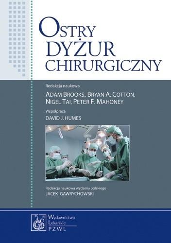 Okładka książki Ostry dyżur chirurgiczny