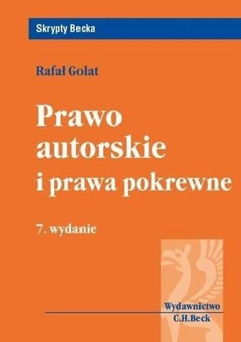 Okładka książki Prawo autorskie i prawa pokrewne