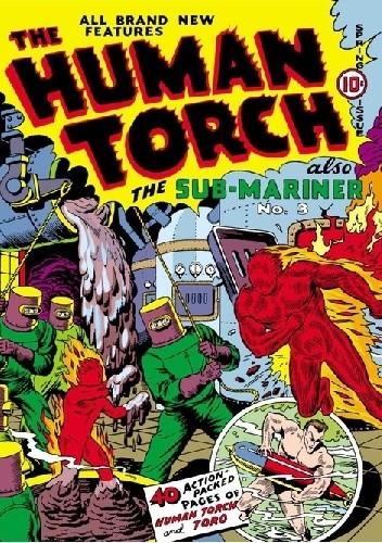 Okładka książki Human Torch Comics 3