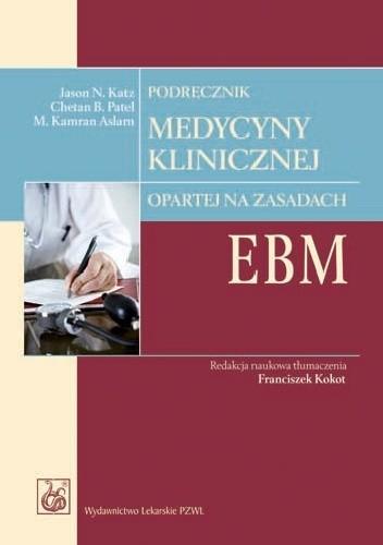 Okładka książki Podręcznik medycyny klinicznej opartej na zasadach EBM