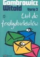 List do Ferdydurkistów