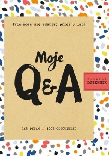 Okładka książki Moje Q&A. 3-letni dziennik