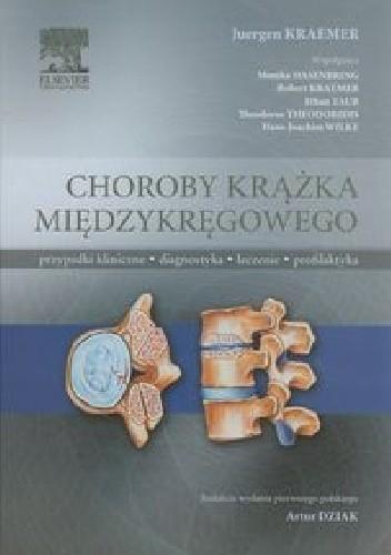 Okładka książki Choroby krążka międzykręgowego