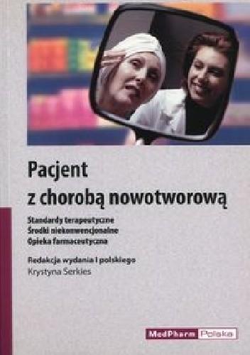 Okładka książki Pacjent z chorobą nowotworową
