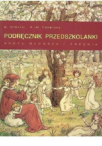 Okładka książki Podręcznik przedszkolanki, grupa młodsza i średnia