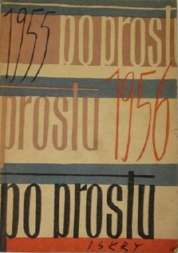 Okładka książki Po prostu 1955-1956. Wybór artykułów