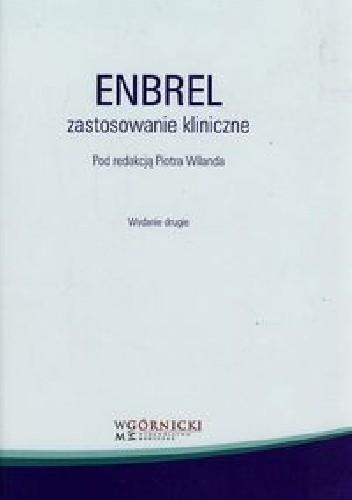 Okładka książki Enbrel Zastosowanie kliniczne