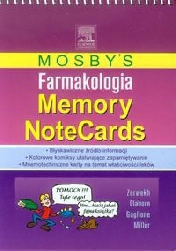 Okładka książki Mosby's Farmakologia Memory NoteCards