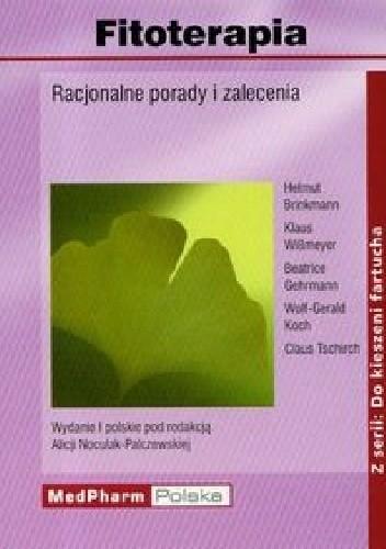 Okładka książki Fitoterapia. Racjonalne porady i zalecenia
