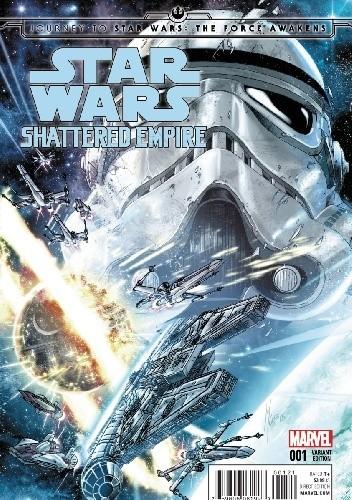 Okładka książki Star Wars: Shattered Empire #1