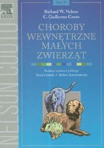 Okładka książki Choroby wewnętrzne małych zwierząt Tom 3