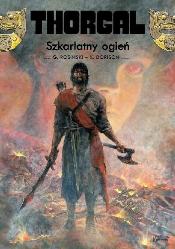 Okładka książki Thorgal: Szkarłatny Ogień