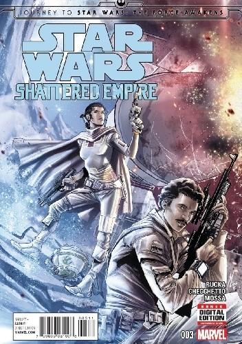 Okładka książki Star Wars: Shattered Empire #3