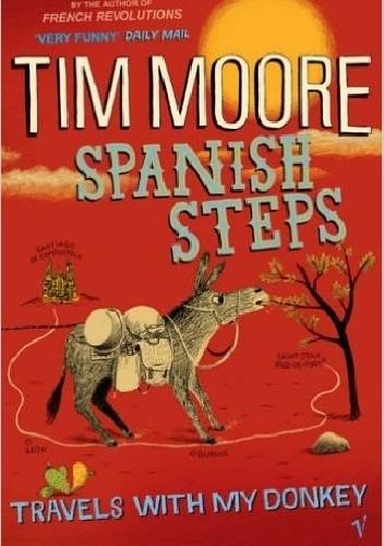 Okładka książki Spanish steps
