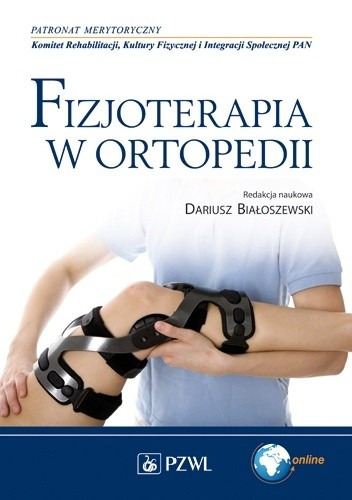 Okładka książki Fizjoterapia w ortopedii