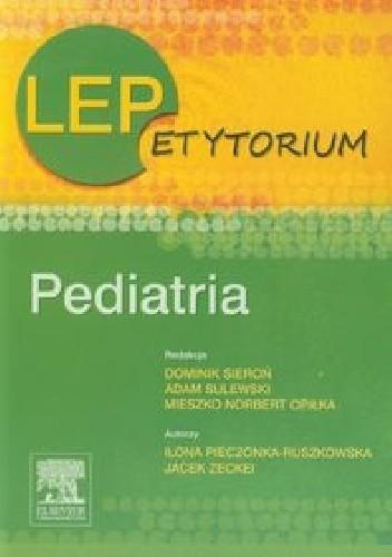 Okładka książki LEPetytorium Pediatria