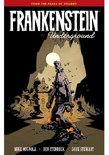 Okładka książki Frankenstein Underground