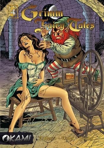 Okładka książki Grimm Fairy Tales #04 Rumpelsztyk