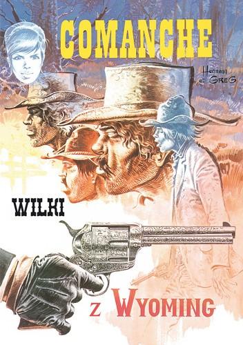 Okładka książki Comanche #3 - Wilki z Wyoming