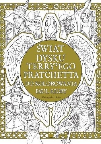Okładka książki Świat Dysku Terry'ego Pratchetta do kolorowania