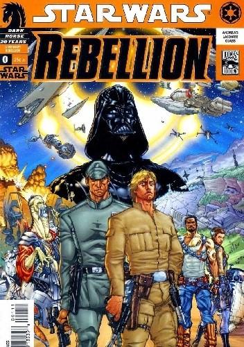 Okładka książki Star Wars: Rebellion #0