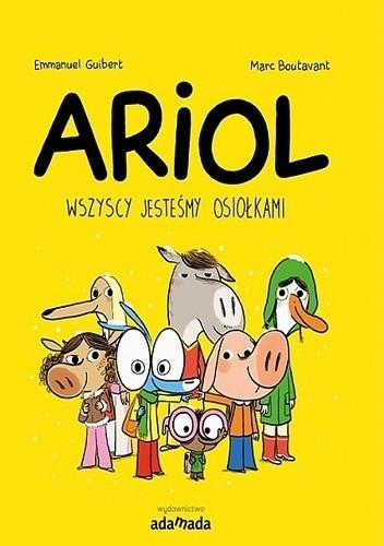 Okładka książki Ariol. Wszyscy jesteśmy osiołkami