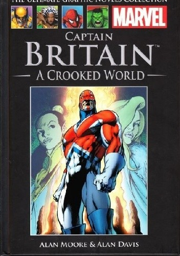 Okładka książki Captain Britain: A Crooked World