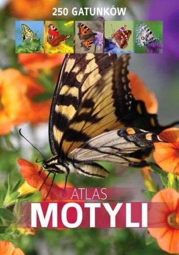 Okładka książki Atlas motyli