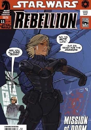 Okładka książki Star Wars: Rebellion #11
