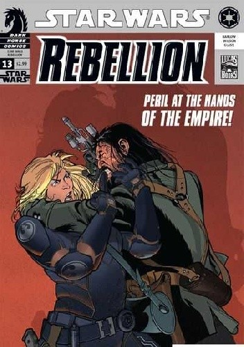 Okładka książki Star Wars: Rebellion #13