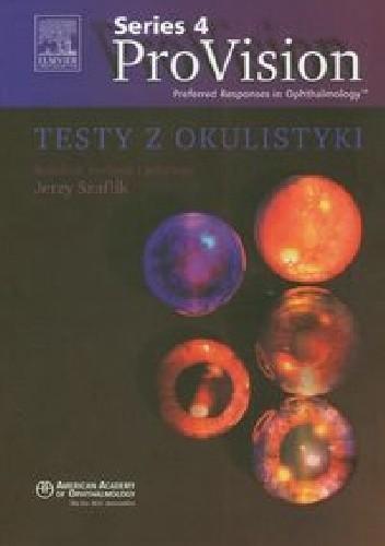 Okładka książki Testy z okulistyki ProVision Series 4