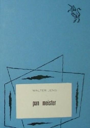 Okładka książki Pan Meister: Dialog o pewnej powieści